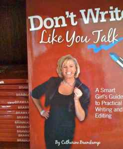 Book, Don't Write Like You Talk