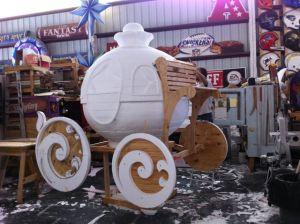 Styrafoam carriage