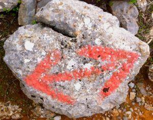 Two way rock in Turkey
