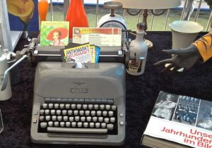 Cologne Typewriter in the Flea market by the Rhien